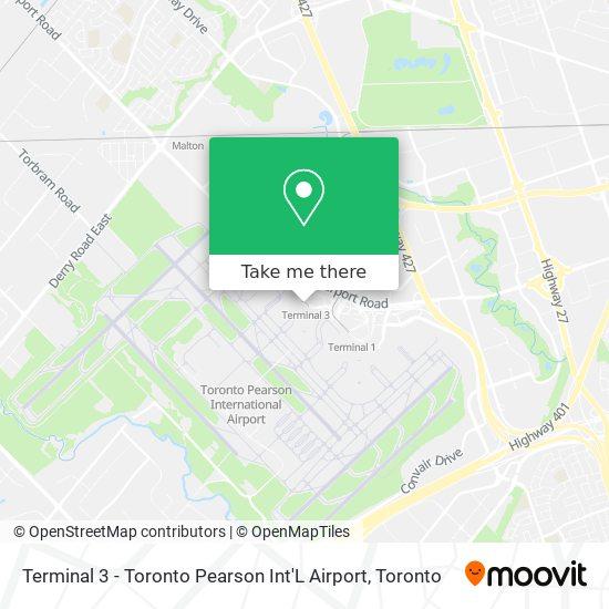 Terminal 3 - Toronto Pearson Int'L Airport plan