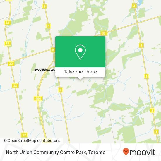 North Union Community Centre Park plan
