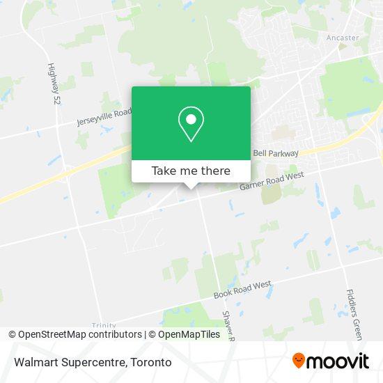 Mapa Walmart Supercentre