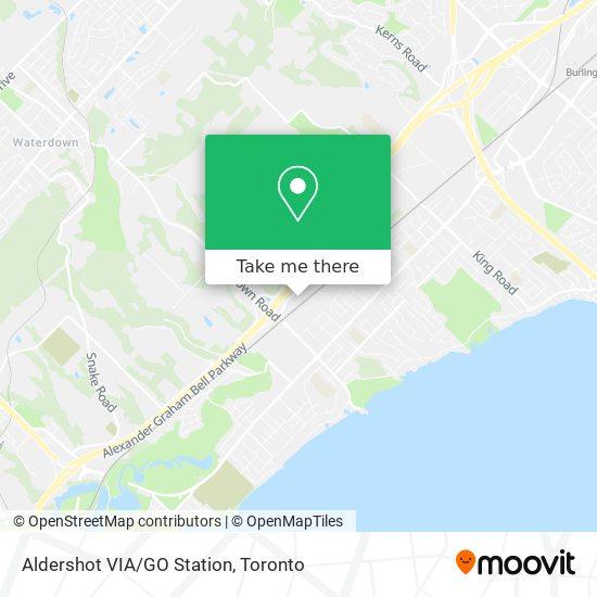 Aldershot VIA/GO Station plan