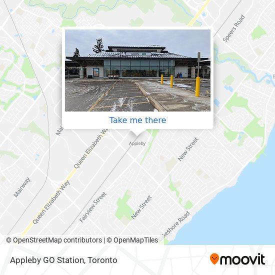 Appleby GO Station plan