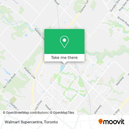 Walmart Supercentre plan