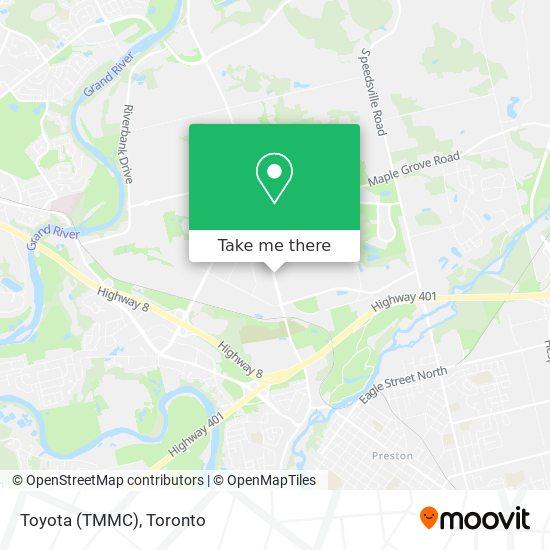 Mapa Toyota (TMMC)