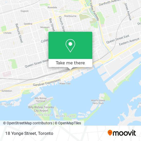18 Yonge Street plan