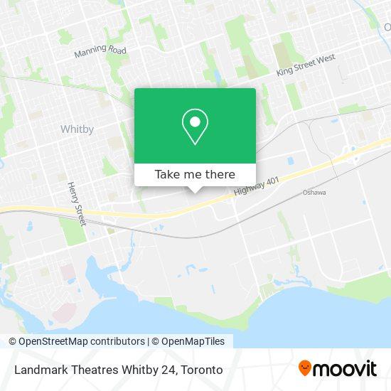 Landmark Theatres Whitby 24 plan