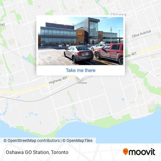 Oshawa GO Station plan