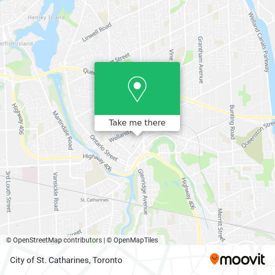 City of St. Catharines plan