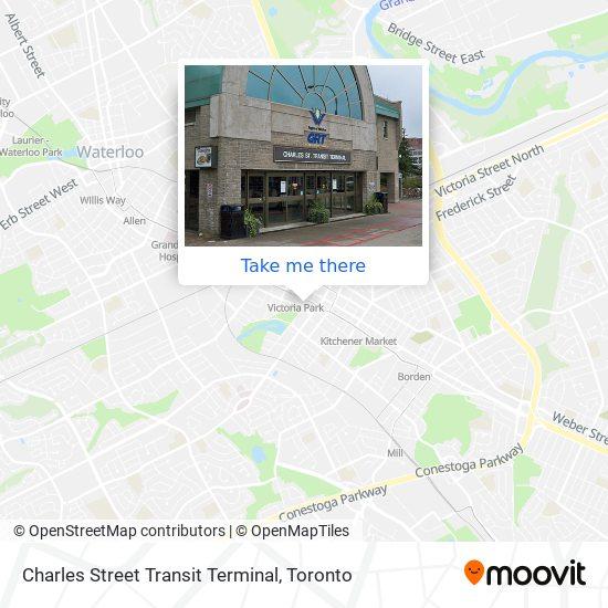 Charles Street Transit Terminal plan