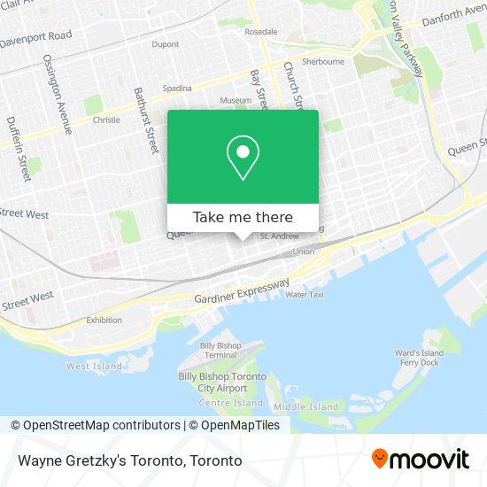 Wayne Gretzky's Toronto mapa