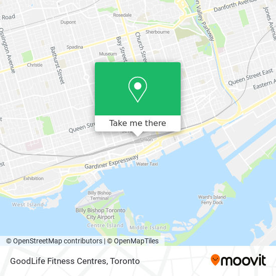 GoodLife Fitness Centres plan