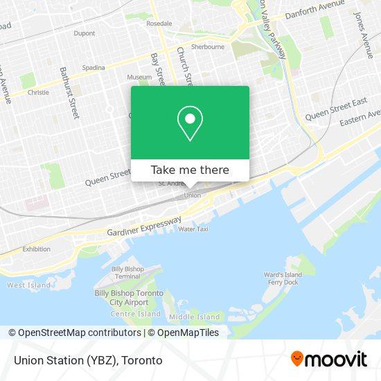 Mapa Union Station (YBZ)