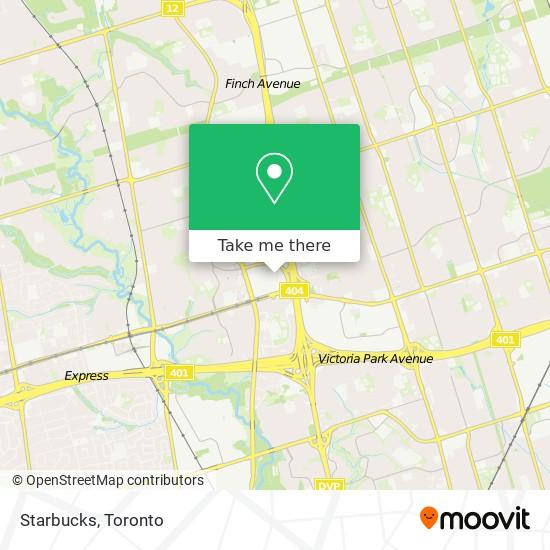 Mapa Starbucks