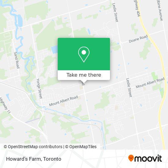 Howard's Farm mapa