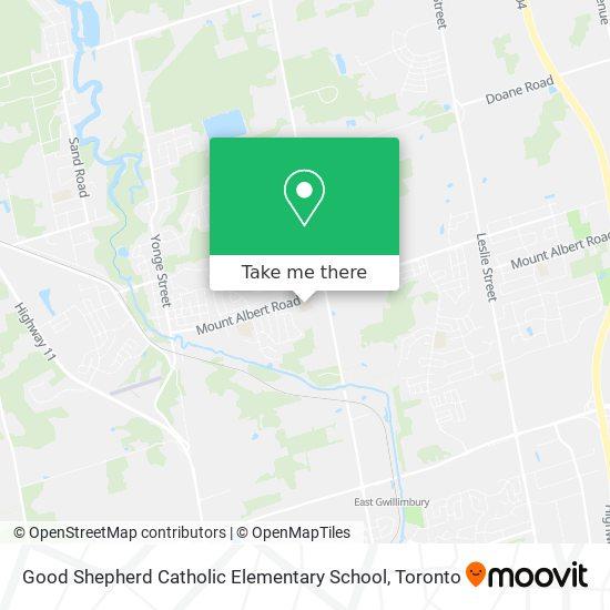 Good Shepherd Catholic Elementary School mapa