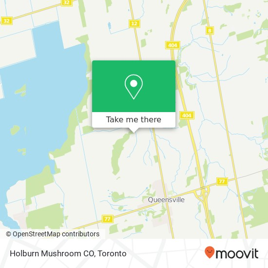 Holburn Mushroom CO mapa