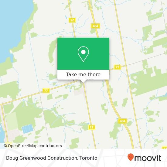 Doug Greenwood Construction mapa