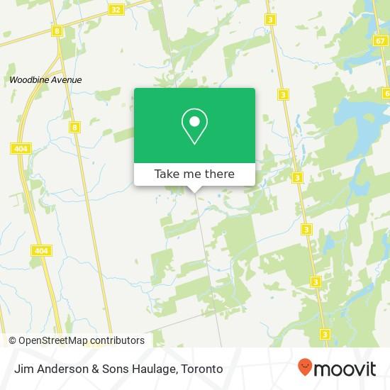 Jim Anderson & Sons Haulage地图