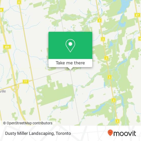 Dusty Miller Landscaping plan