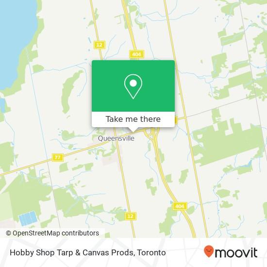 Mapa Hobby Shop Tarp & Canvas Prods