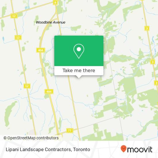 Lipani Landscape Contractors地图