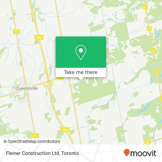 Mapa Fleiner Construction Ltd
