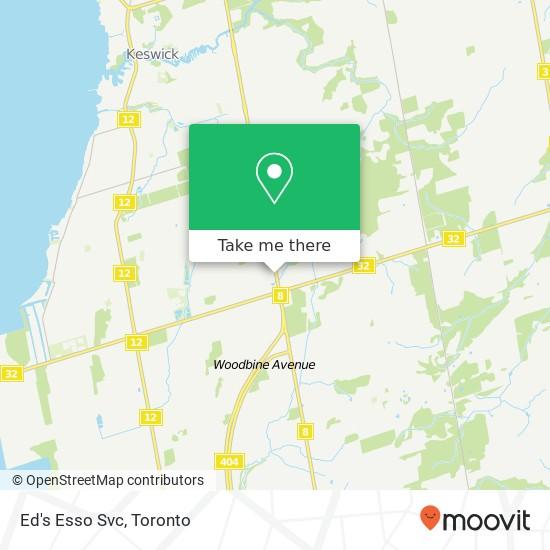 Mapa Ed's Esso Svc