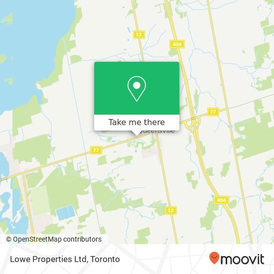Lowe Properties Ltd mapa