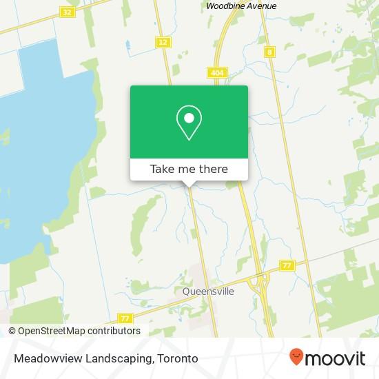 Mapa Meadowview Landscaping
