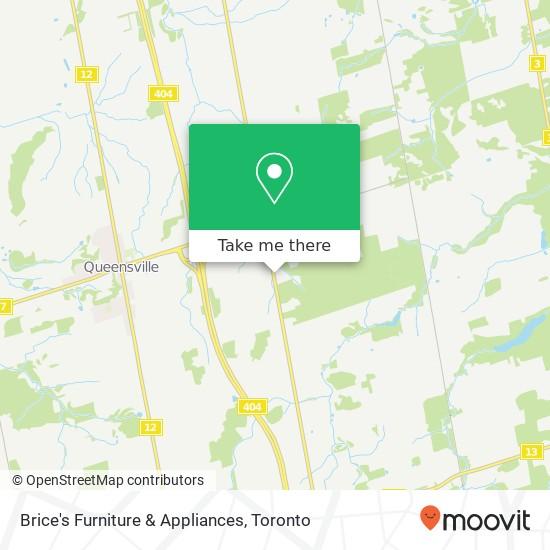 Mapa Brice's Furniture & Appliances