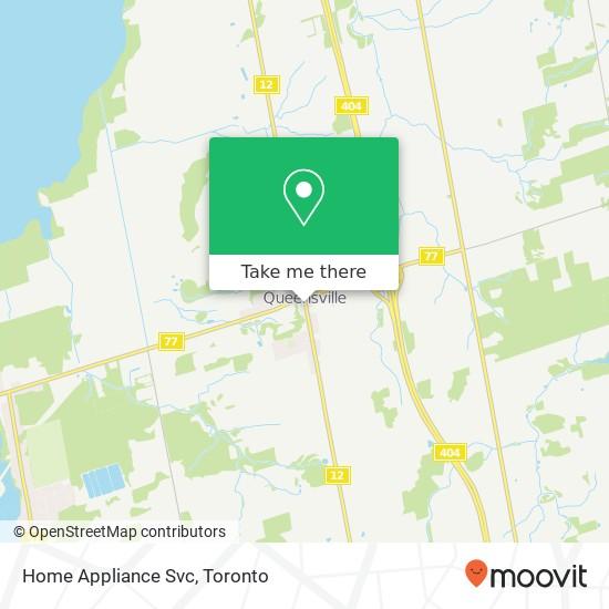 Home Appliance Svc mapa