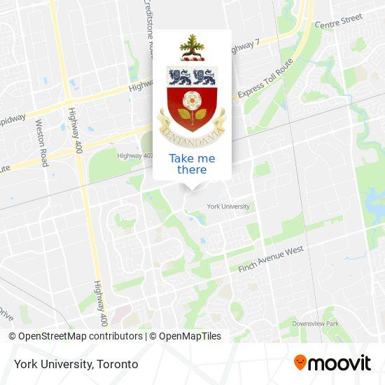 York University plan