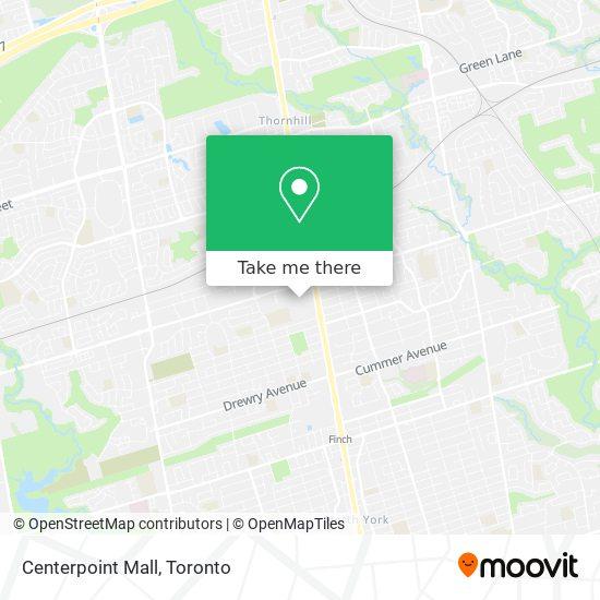 Mapa Centerpoint Mall