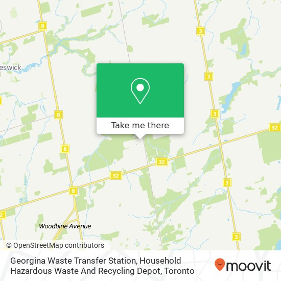 Georgina Waste Transfer Station, Household Hazardous Waste And Recycling Depot plan