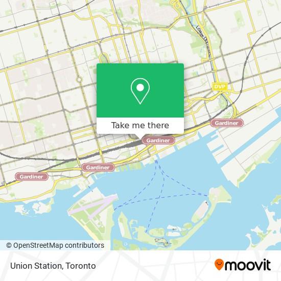 Mapa Union Station