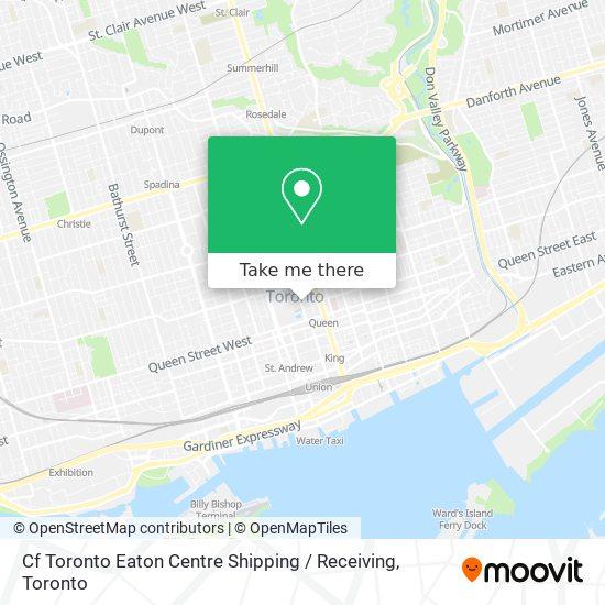 Mapa Eaton Centre