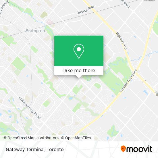 Gateway Terminal plan