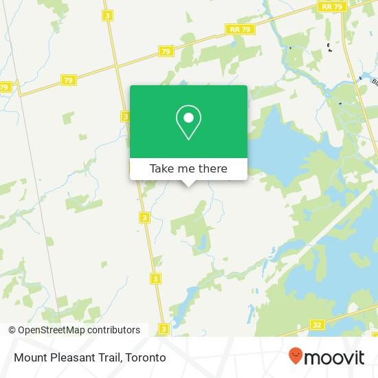 Mount Pleasant Trail mapa