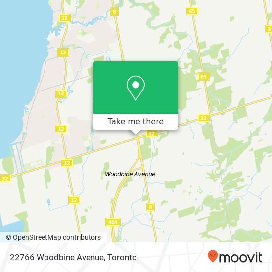 22766 Woodbine Avenue plan