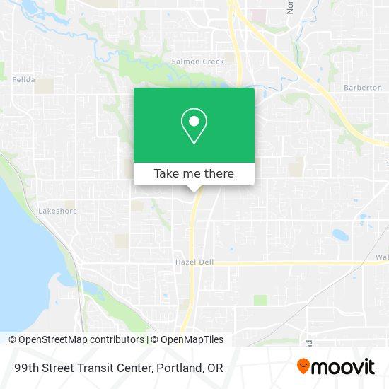 Mapa de 99th Street Transit Center