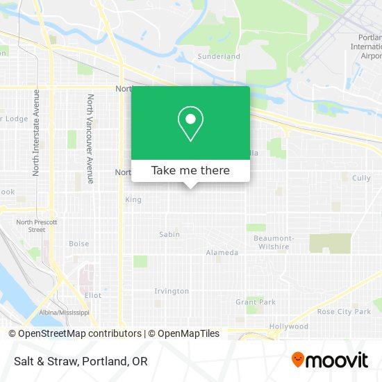 Mapa de Salt & Straw