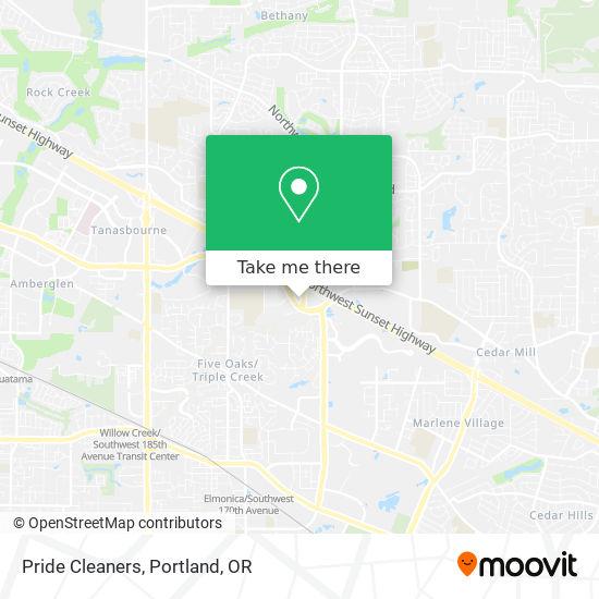 Pride Cleaners mapa