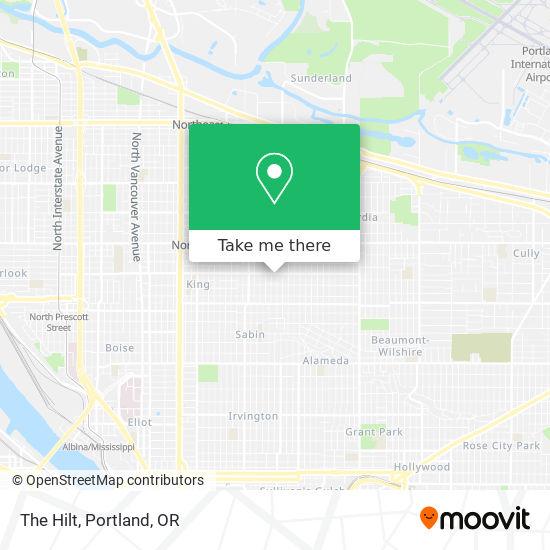 Mapa de The Hilt