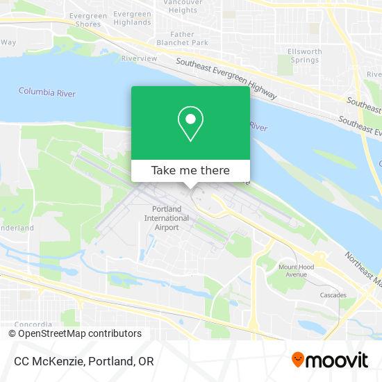 CC McKenzie map