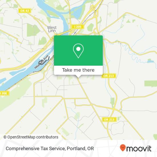 Comprehensive Tax Service mapa