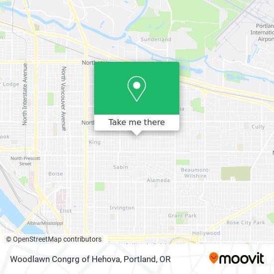 Mapa de Woodlawn Congrg of Hehova