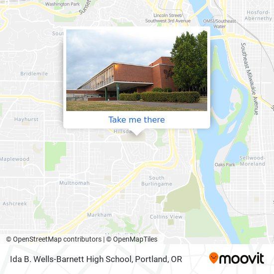 Wilson High School mapa