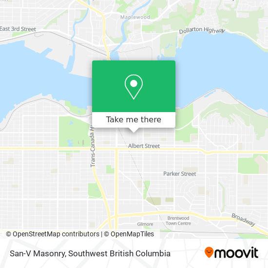 San-V Masonry map