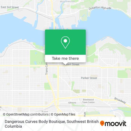 Dangerous Curves Body Boutique map