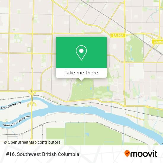 #16 map