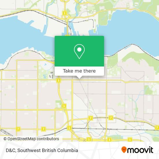 D&C map